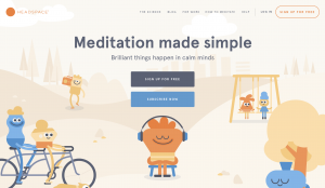 Headspace: Use of Illustration in Design