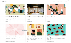 AirBnB: Use of Illustration in Design