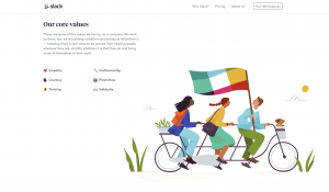Slack: Uses of Illustration in Design