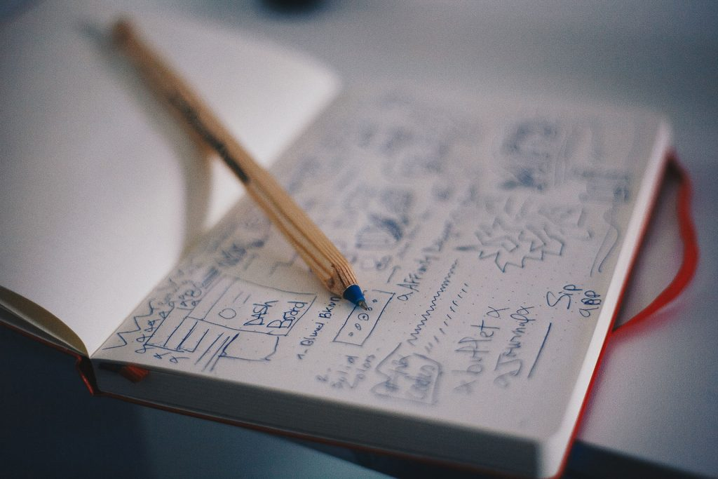Notebook with User Interface notes