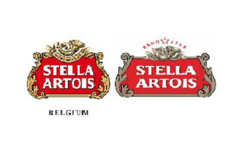 Stella Artois was the first brand to use a logo in 1366