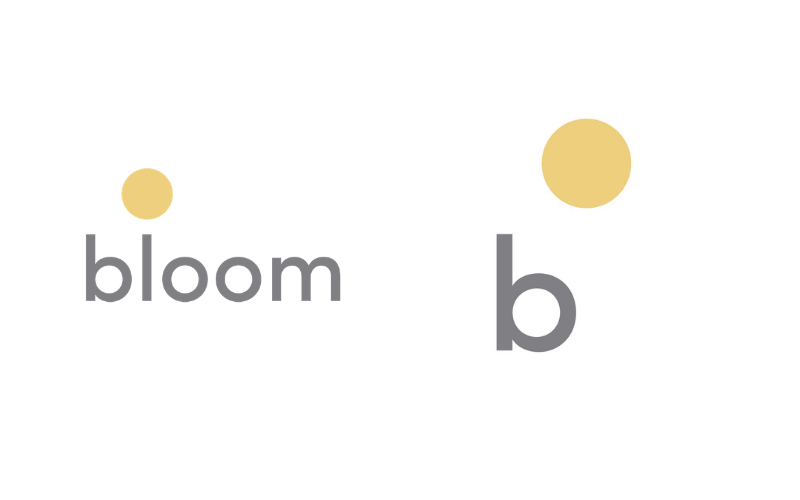Bloom Creative Full Logo Vs IconBloom Creative Full Logo Vs Icon