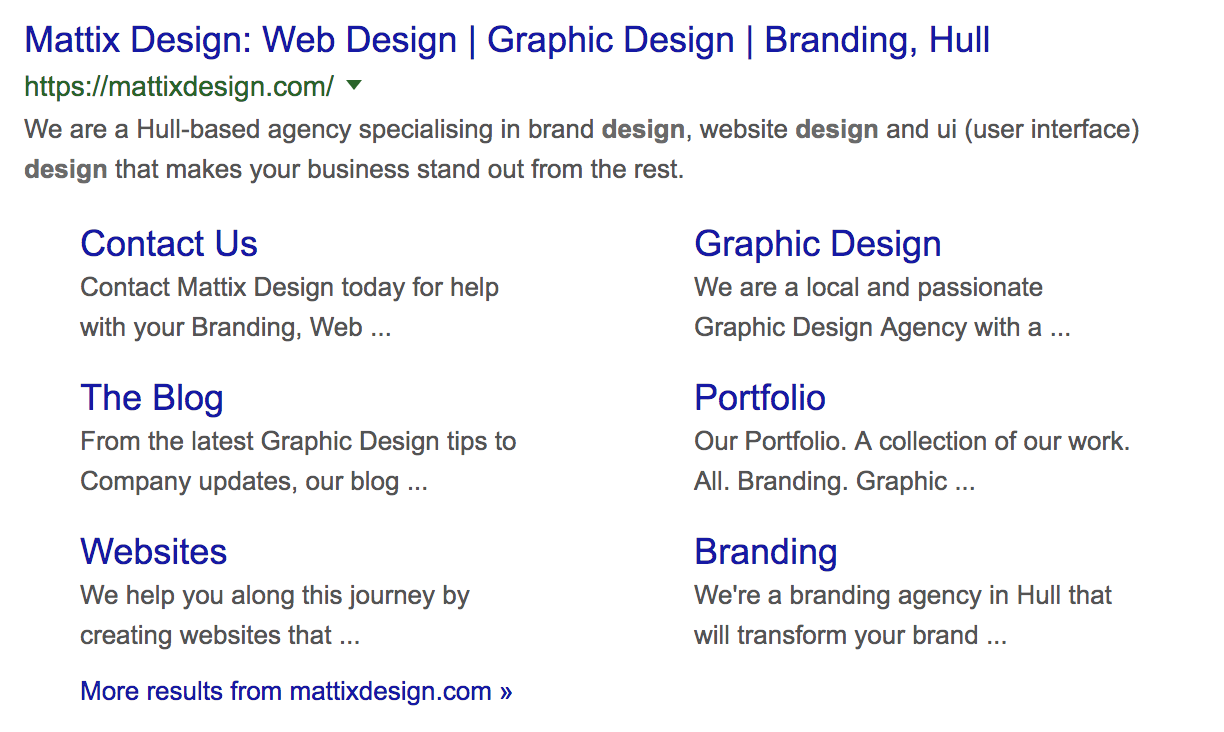 Mattix Design Web Design Graphic Design Branding Hull.
