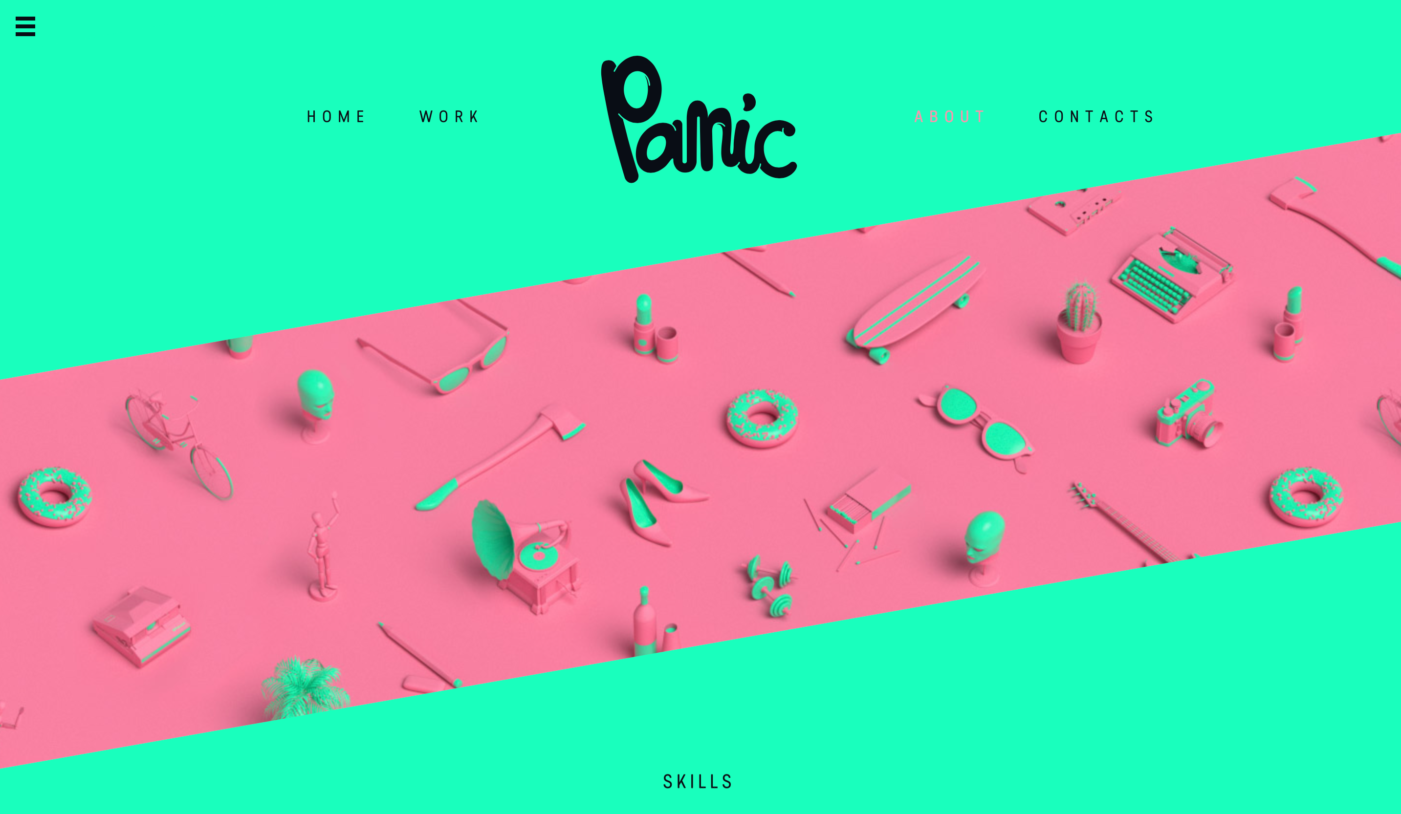 Panic Animation Complementary Colours