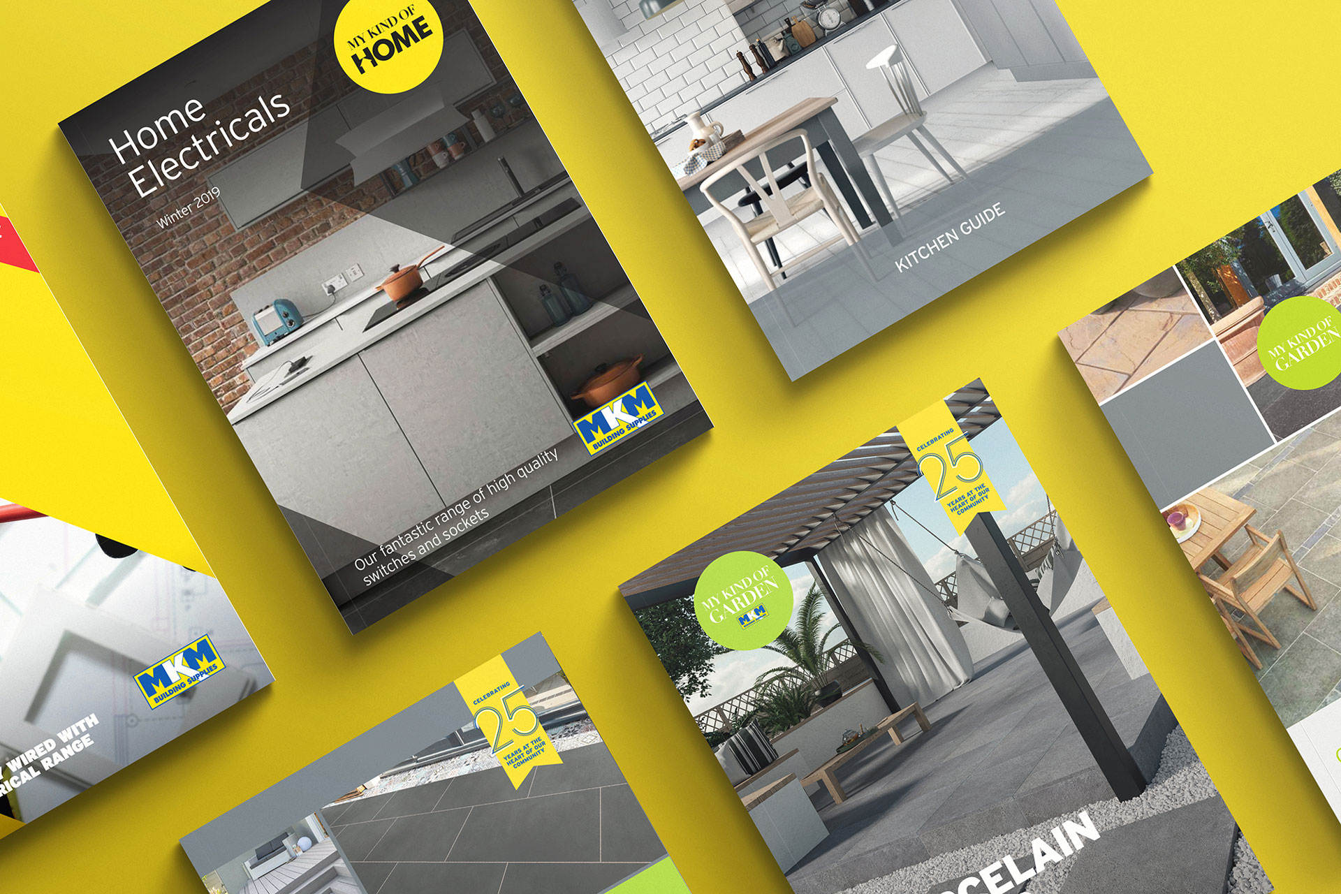 Graphic Design for construction company MKM in Hull