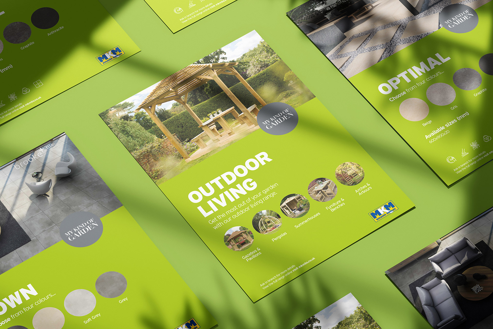 Graphic Design Landscaping POS for construction company MKM in Hull