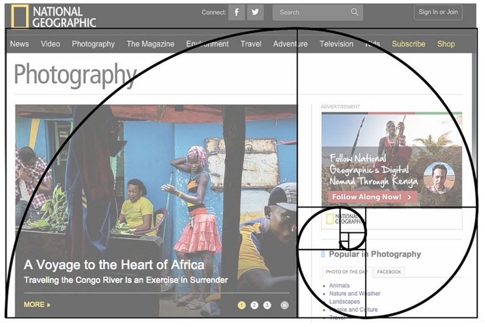 Make Your Website More Visually Engaging - Golden Ratio